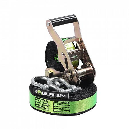 Slackline set STEP 12 m, šíře 35 mm